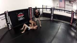 No Gi Knee On Belly to Office Choke - The Compound MMA