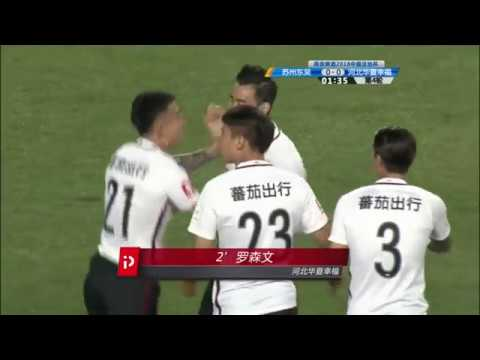 2018 CFA CUP   Round 4   Suzhou Dongwu vs Hebei CFFC