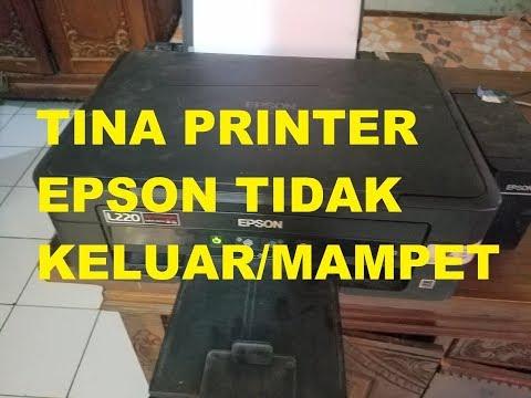 Cara Head Cleaning Epson Printer L220 (tinta mampet)