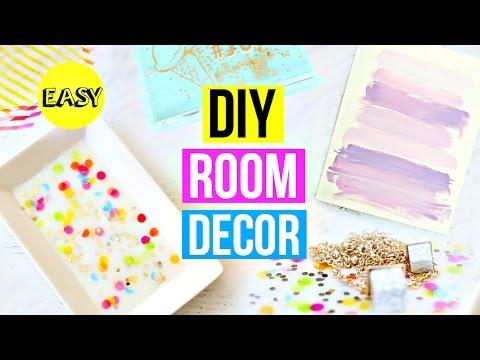 DIY Room Decoration Ideas! Easy Pinterest DIYs!