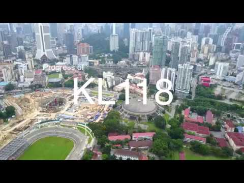 Progress of Malaysia Tallest, the KL118 - 4th June 2017