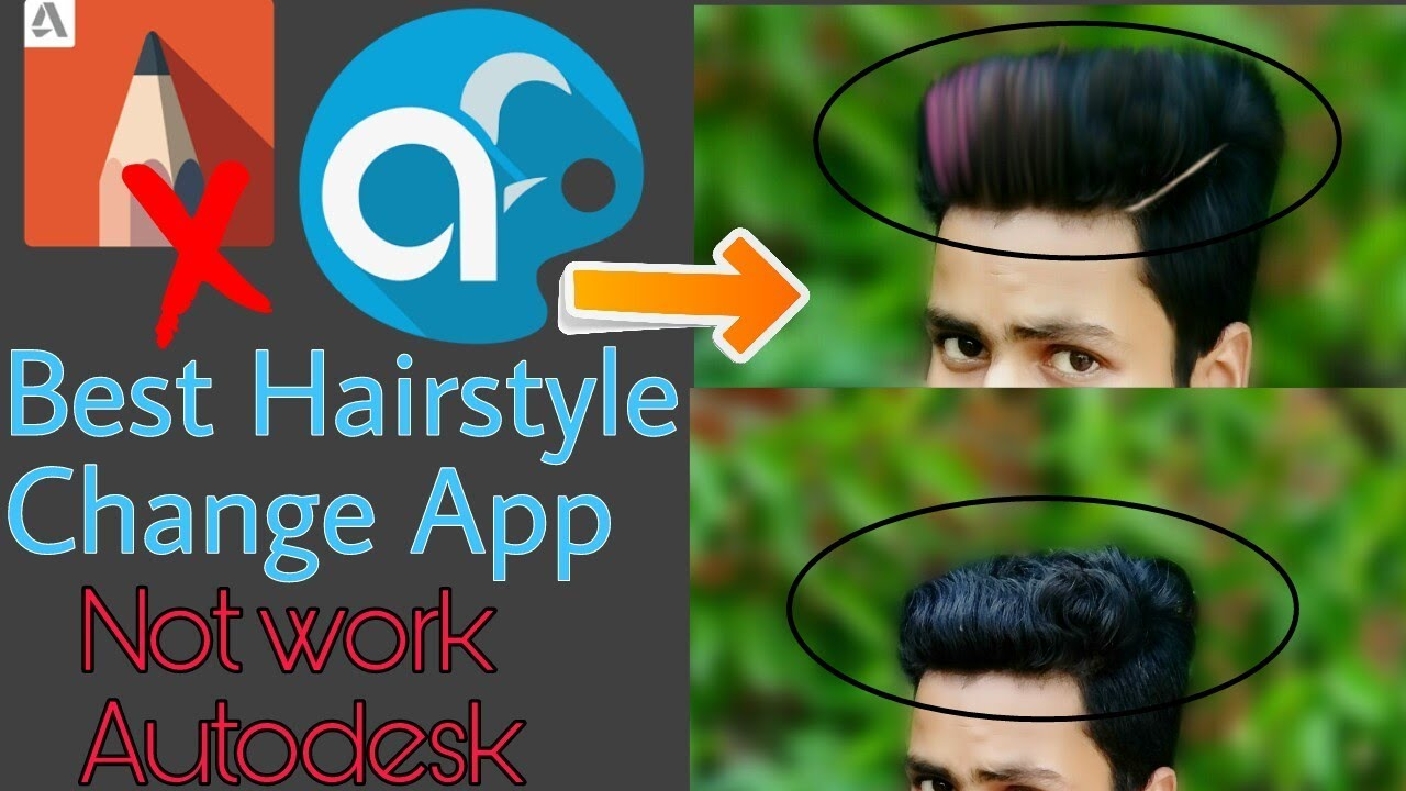 real cb hair editing app for android / best hair change app / how to change hairstyle autodesk