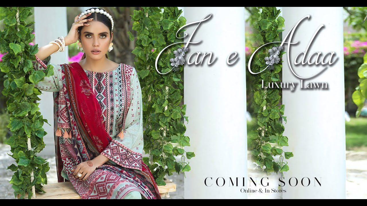 Keshia - Summer Fashion BTS 2020 | Jan-e-Adaa Luxury Lawn Coming Soon