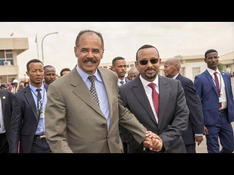 Former sworn enemies Ethiopia, Eritrea vow to build