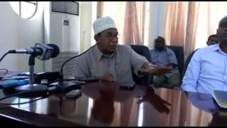 Aliyekuwa Mkuu wa Mkoa Zanzibar , asitoa ya moyoni kuhusu uchochezi