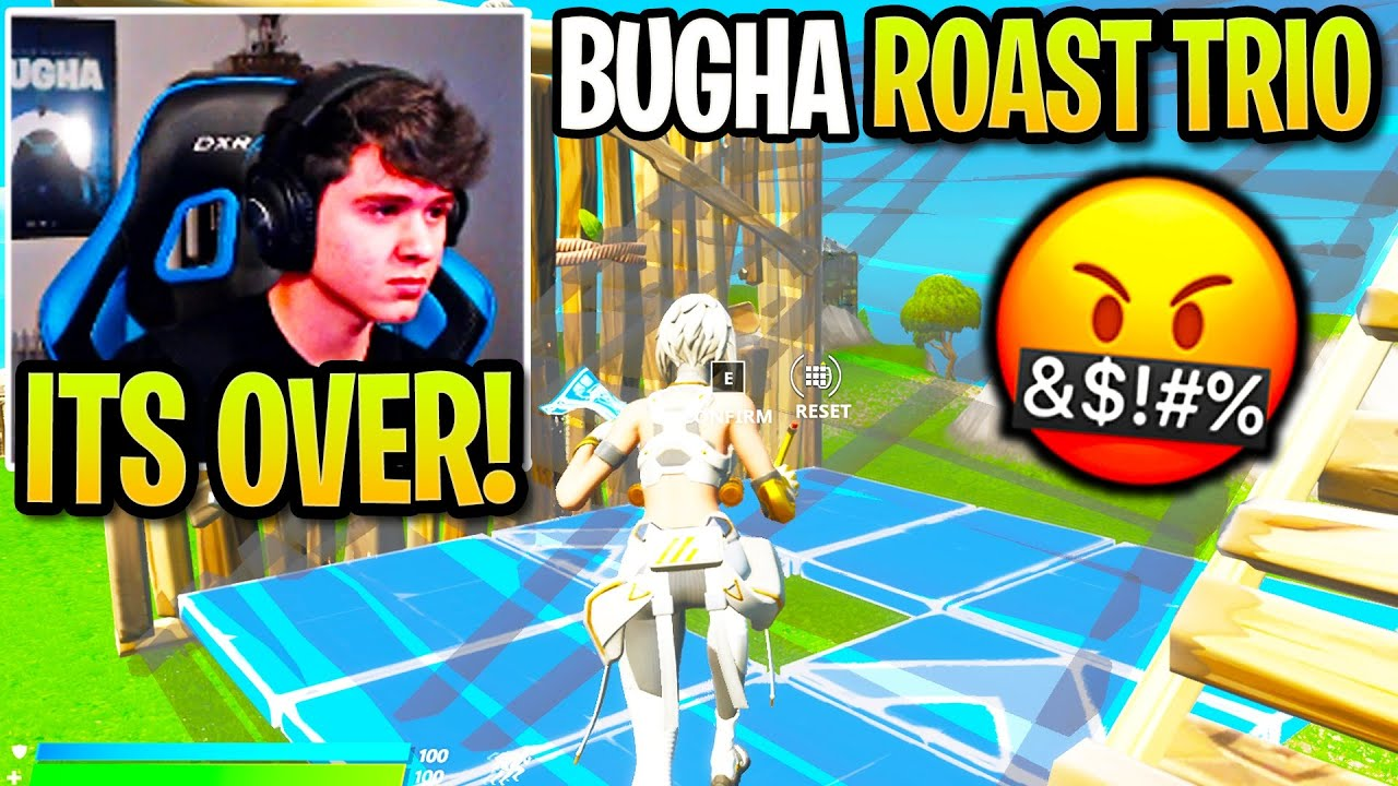 Bugha *BREAKS UP* with TOXIC TRIO after THIS! (Fortnite)