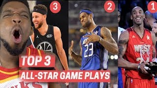 THIS VIDEO IS CRAZY!! Top 3 Plays From Every All-Star Game! (2010-2020