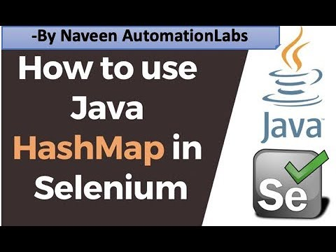 Real Time Use Case Of HashMap In Selenium || Important Selenium Interview Question