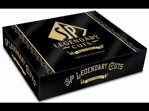 2011 SP LEGENDARY CUTS LIVE BOX BREAK CASE ANTHONY BASEBALL
