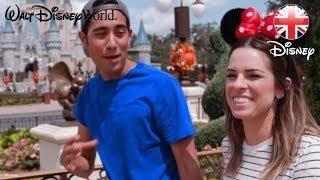 WALT DISNEY WORLD | Zach King Visits Magic Kingdom Park! | Official Disney UK