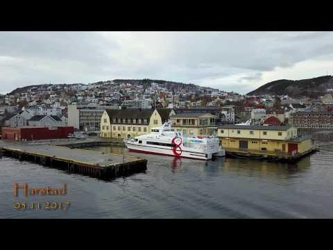 Harstad havn - dronevideo - 2017.11.05 - 4k