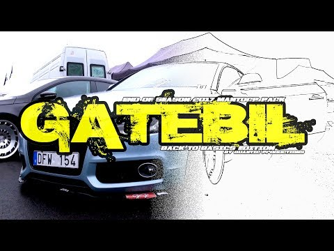 Gatebil End of Season Mantorp Park 2017 - Back to Basics Edition