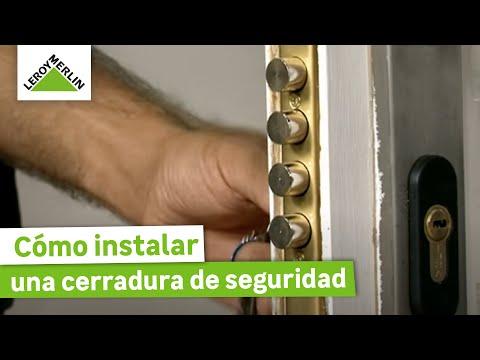 Instalar Una Cerradura De Seguridad Leroy Merlin Youtube