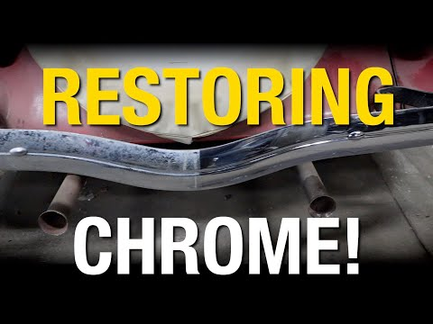 How-To Restore Old Chrome On Barn Find - Restoration HACK From Eastwood
