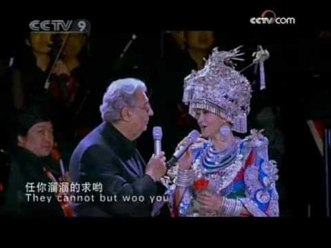 Song Zuying, Plácido Domingo: