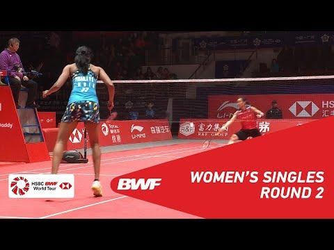 R2 | WS | TAI Tzu Ying (TPE) vs PUSARLA V. Sindhu (INA) | BWF 2018