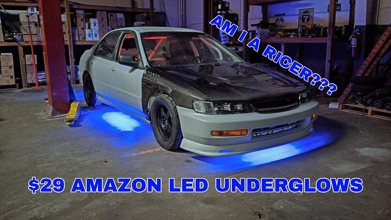 Download AM I A RICER??? | CD5 Track Accord Gets Some LED Underglow Lights - Episode 15