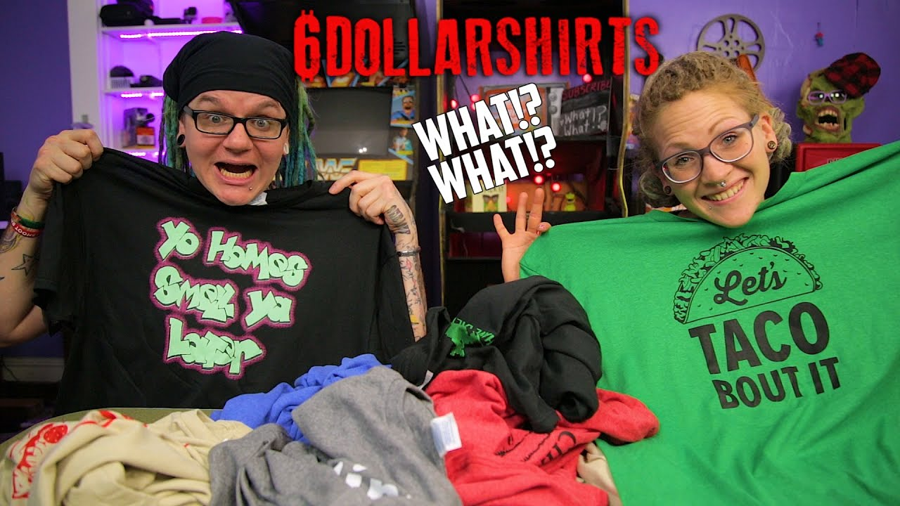 6 dollar t shirts review