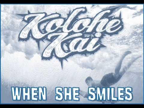 Kolohe Kai  When She Smiles Audio New Sg 2014