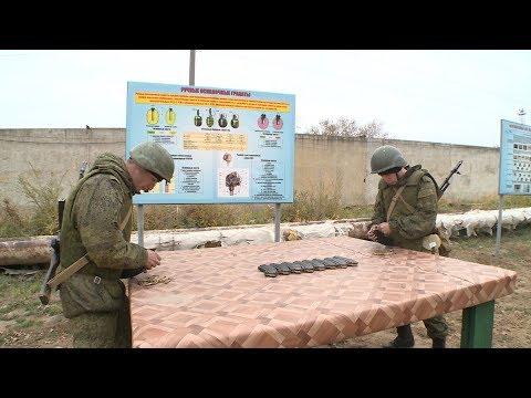 В Волгограде контрактники прошли курсы выживания