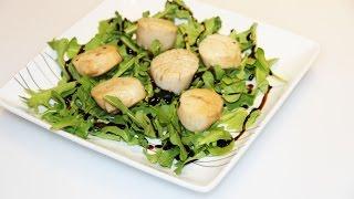 ГРЕБЕШКИ ЭСКАБЕЧЕ (Escabèche-Style Scallops).ОООЧЕНЬ ВКУСНО!(ГРЕБЕШКИ ЭСКАБЕЧЕ (Escabèche-Style Scallops)-очень вкусная,холодная закуска испанской кухни.Традиционно ЭСКАБЕЧЕ..., 2015-08-28T02:22:29.000Z)