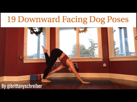 Downward Facing Dog Poses – 19 New Variations of Downward Dog