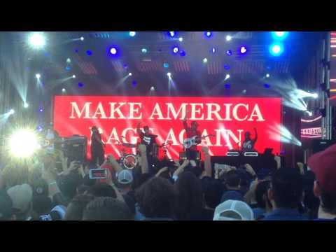 Prophets of Rage - No Sleep Til Brooklyn / Fight The Power mashup - Jimmy Kimmel Live! 7/21/16