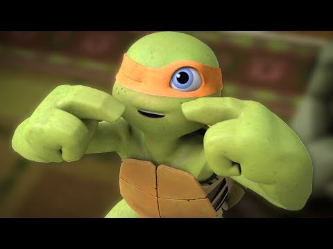 Teenage Mutant Ninja Turtles Legends - Part 114 - Baby Turtles Sleeping