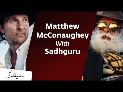 Matthew McConaughey In Conversation With Sadhguru {Full Talk}