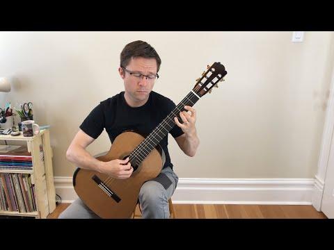 Lesson & Free PDF: El Noi de la Mare by Llobet for Classical Guitar