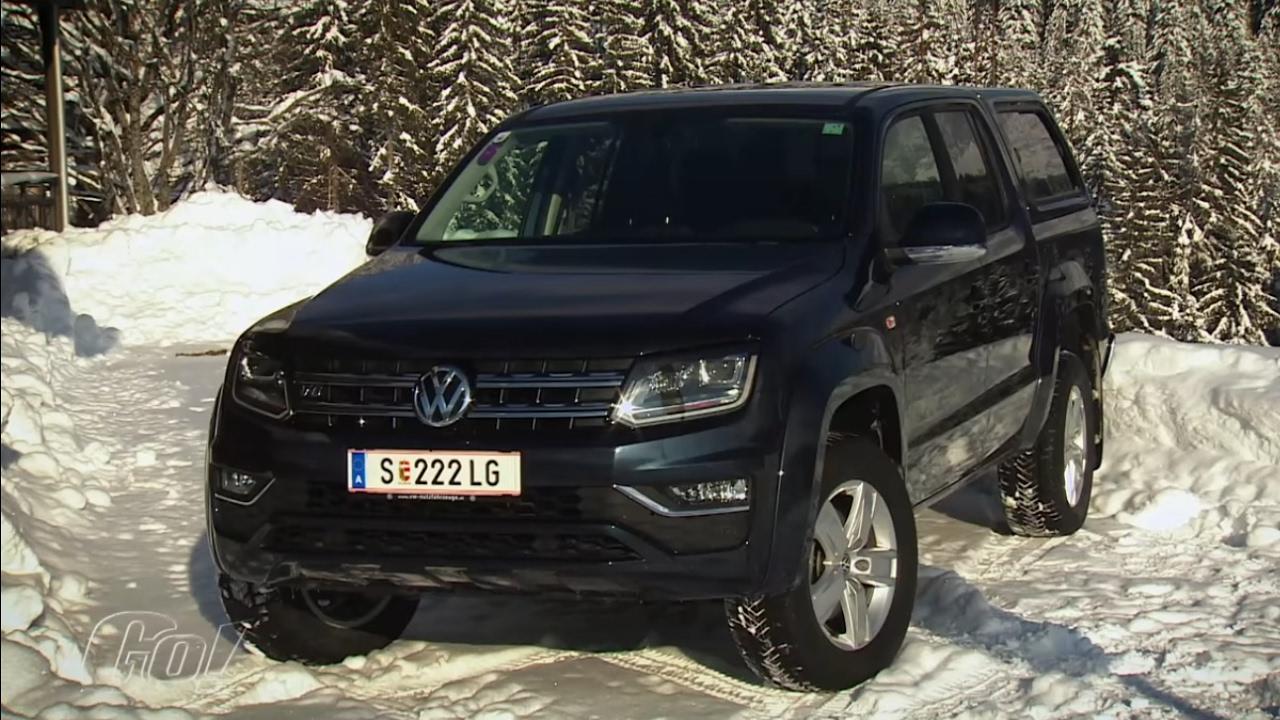 Ohne Allrad geht nichts! | VW Amarok 2017 | der Test