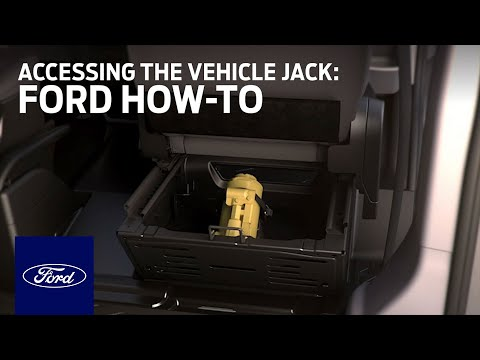 Accessing the Vehicle Jack | Ford How-To | Ford