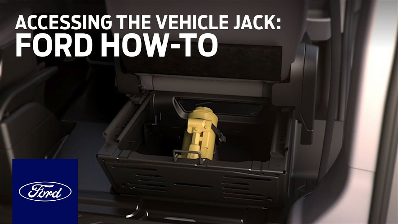The Ford Transit Comes With Its Own Built In Jack Holiday Ford