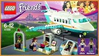LEGO Friends Heartlake Private Jet  41100 Building Kit by FTC #Funtoys Channel