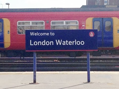 Full Journey on South West Trains from Waterloo to Waterloo (via Kingston and Richmond)