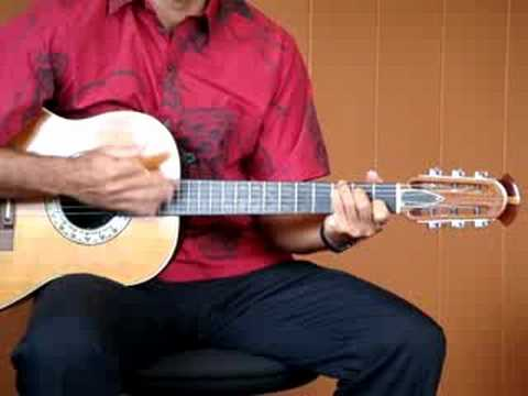 Hawaiian Wedding Song - Ke Kali Nei Au - guitar