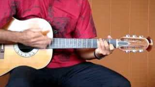Hawaiian Wedding Song - Ke Kali Nei Au - guitar