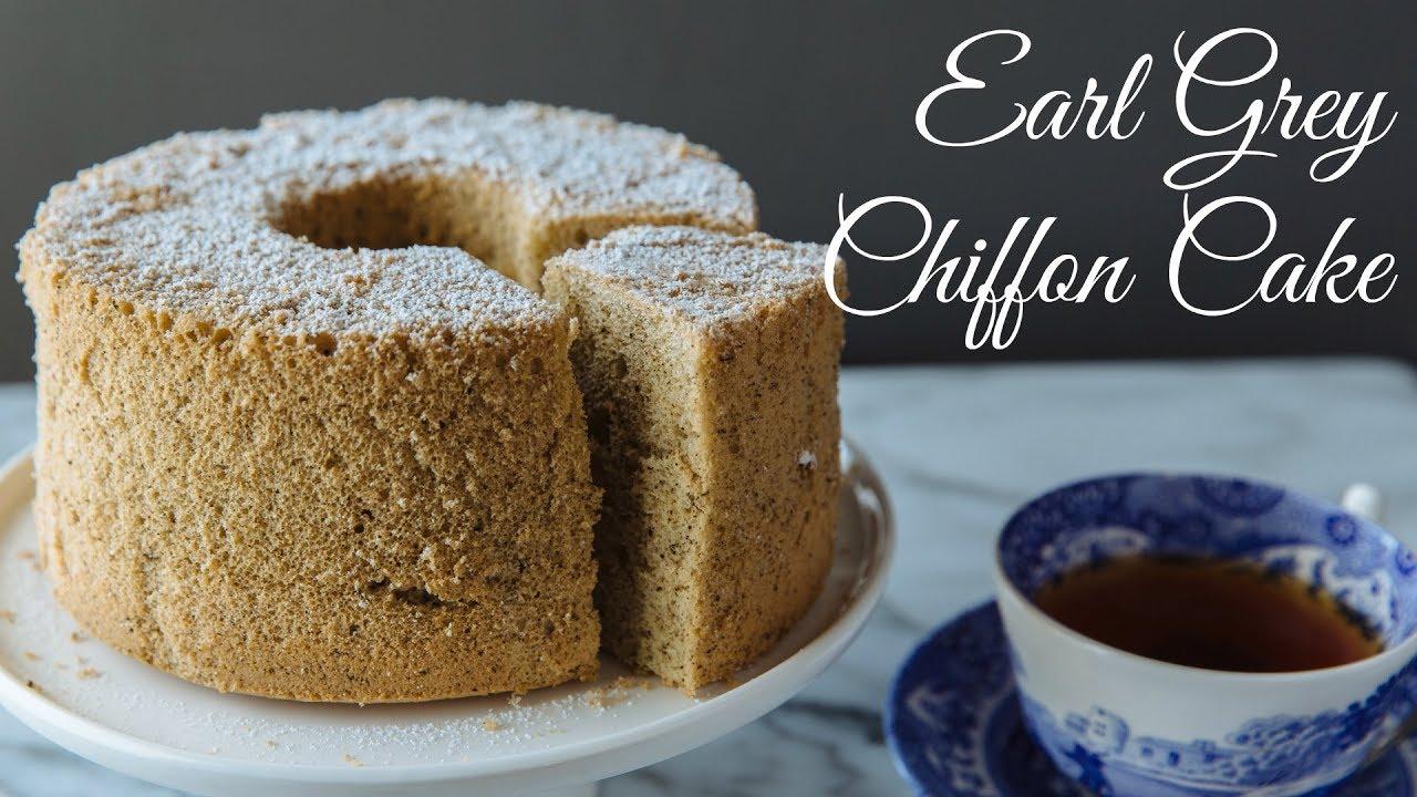 How To Make Earl Grey Chiffon Cake Recipe アールグレイシフォン