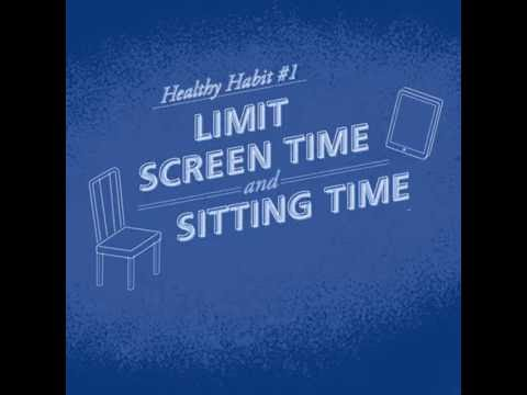 Limit Screen Time | 9 Healthy Habits