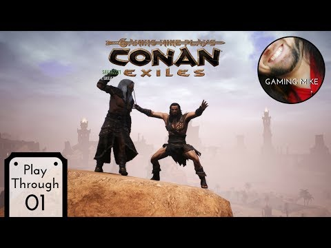 New Server New Updates New Mods | Conan Exiles: The Frozen North 01 (Gameplay Broadcast) [pc 1080p]