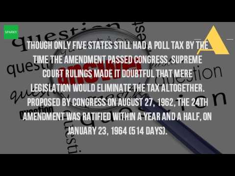 When Was The 24Th Amendment Passed?