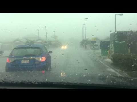 caught in a hail storm airdrie alberta august 14 2012