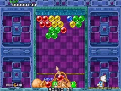 Puzzle Bobble Bust A Move Arcade Gameplay