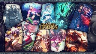 Стрим по League of legends Мат 18+