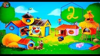 ферма животные для детей 2 мульт