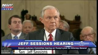 Cruz hangs dems on Senate Committee /Sessions Hearing