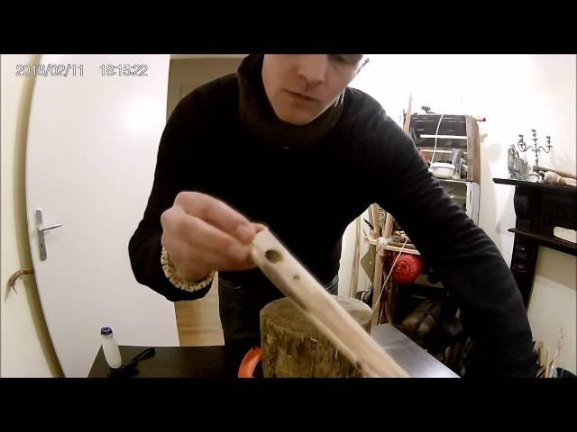 Condor Eco Parang test , Atlatl carving