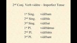 2nd Conjugation Verbs