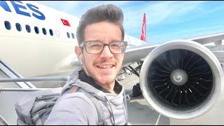 رحلتي لاكبر مطار بالعالم مطار تركيا الجديد عمرك شفته؟؟!