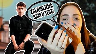 REKLA SAM THE SIKRTU DA GA VOLIM ❤️ | PRANK CALL |Doris Stanković